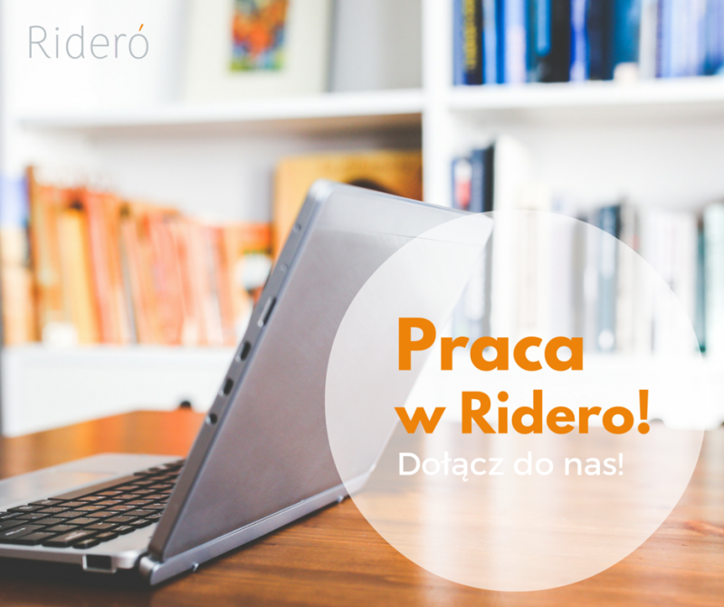 Pracuj w Ridero!